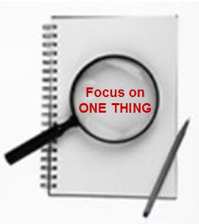 Bir konuya odaklanin